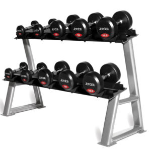 PB527 - Dumbell Rack (holds 5 pairs) - 2 Tier