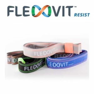 PB387D - FLEXVIT - Resistance Band - Set of 4 (one of each colour)