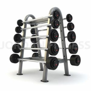 Barbell Rack Oval Frame