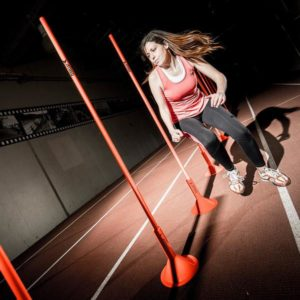 Agility Poles - Indoor with optional bases