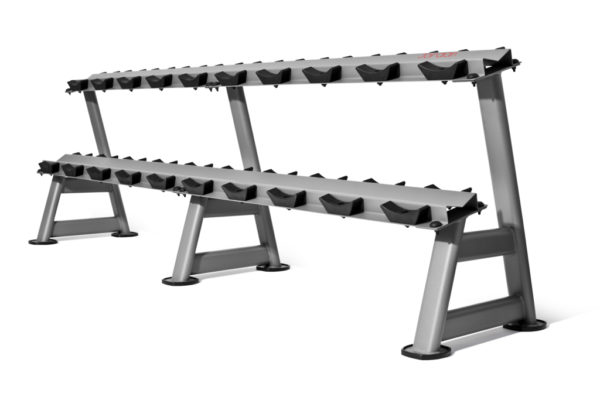 2 tier 10 pairs dumbbell rack