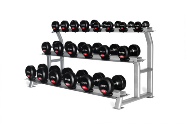 3 tier 10 pairs dumbbell rack