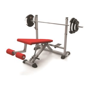 adjustable olympic decline bench PB751A