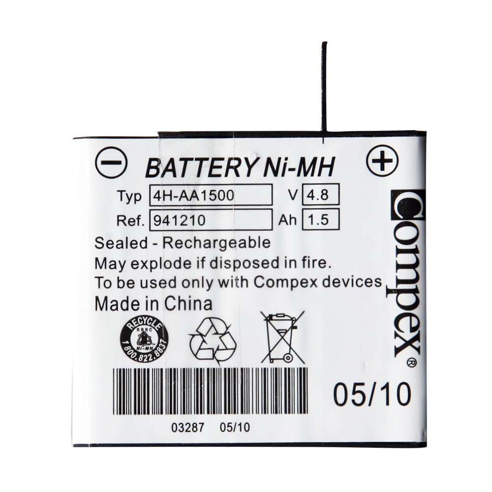compex replacement battery