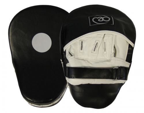 hook and jab pads leather