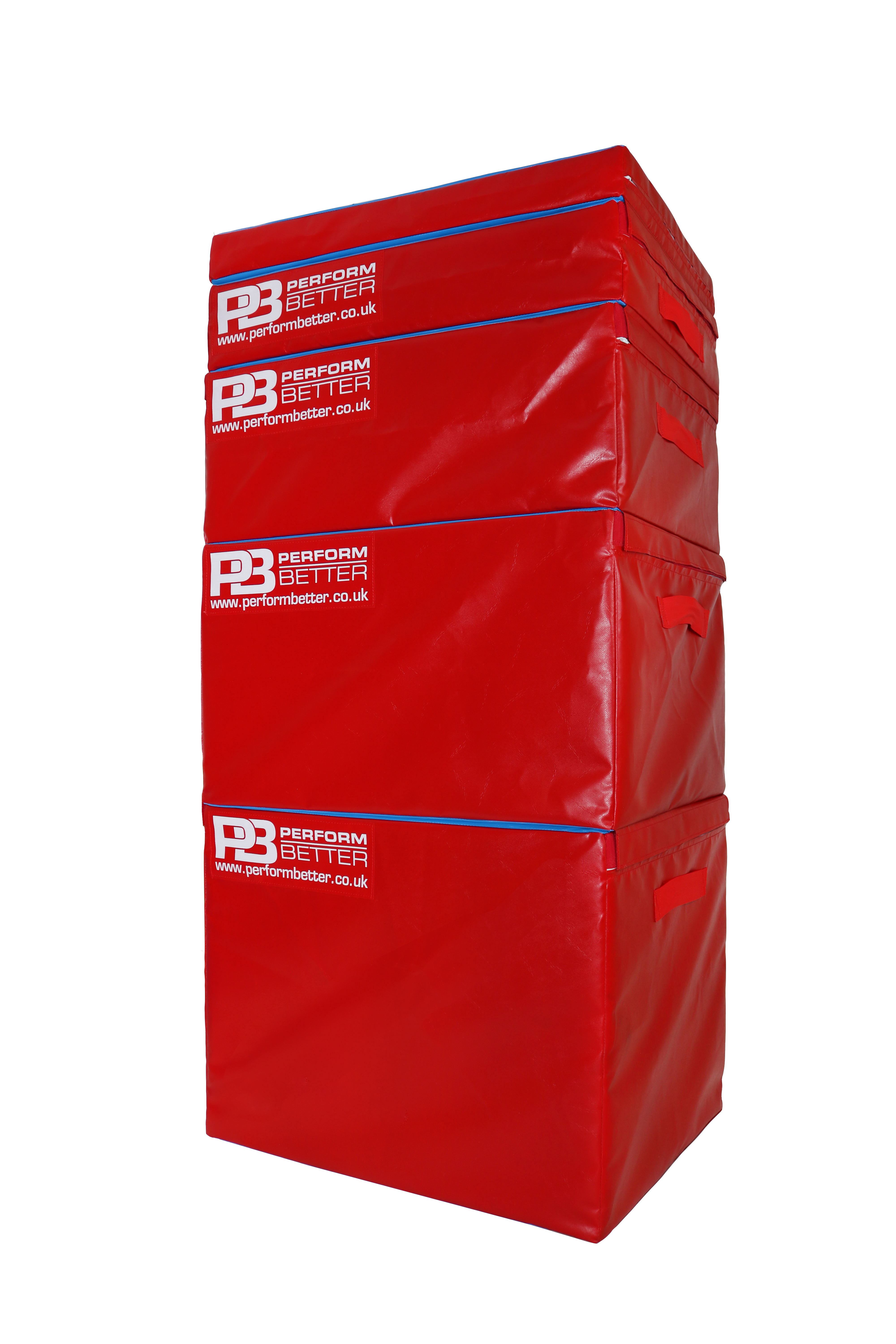 red plyoboxes