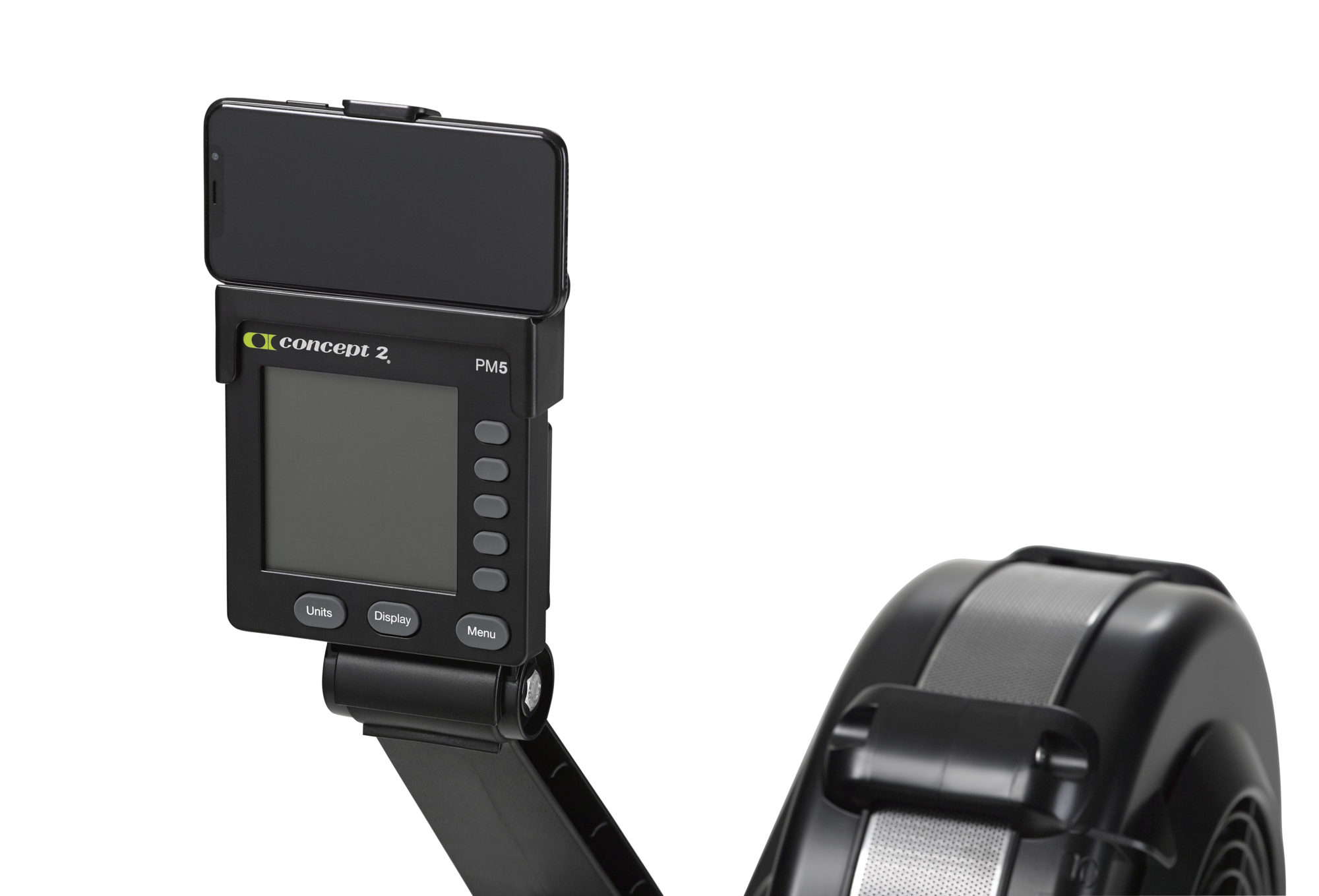 concept 2 rower MODEL_D_BLACK_screen