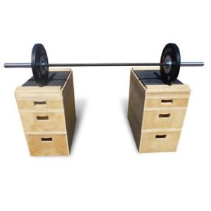 Wooden Stackable Technique Boxes (pair)