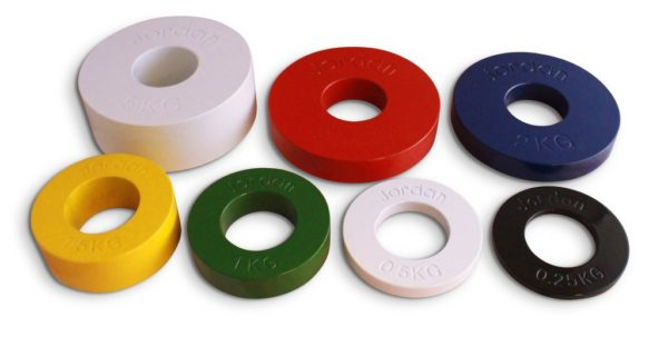PB1136 Olympic Coloured Fractional Disc Set