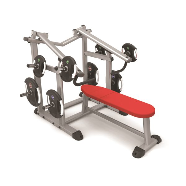 ISO lever flat chest press PB579